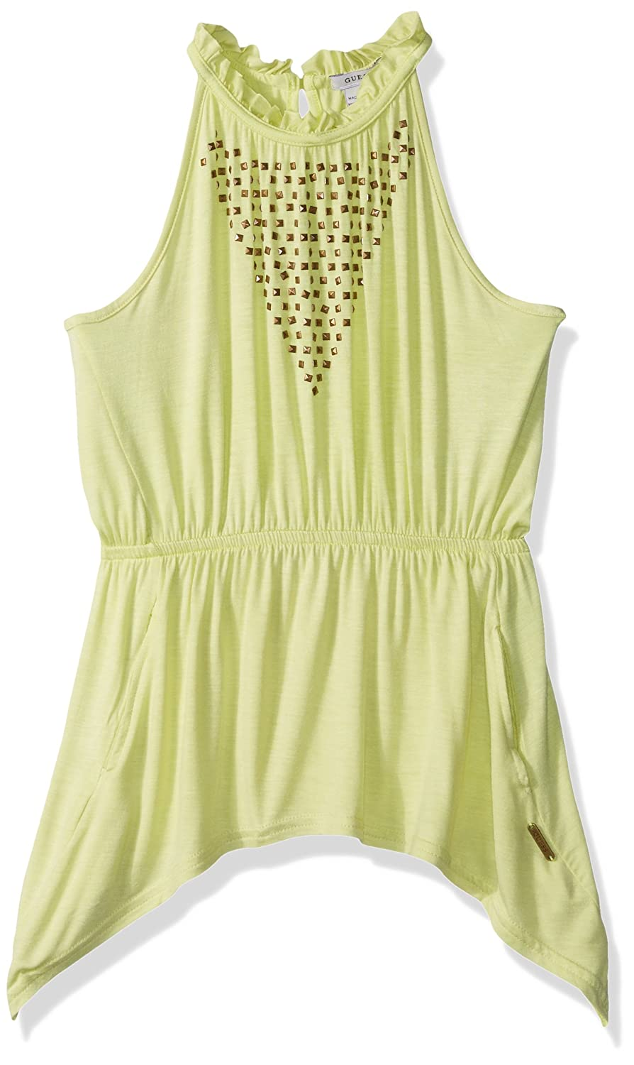 GUESS Girls Big Sleeveless Top with Stones