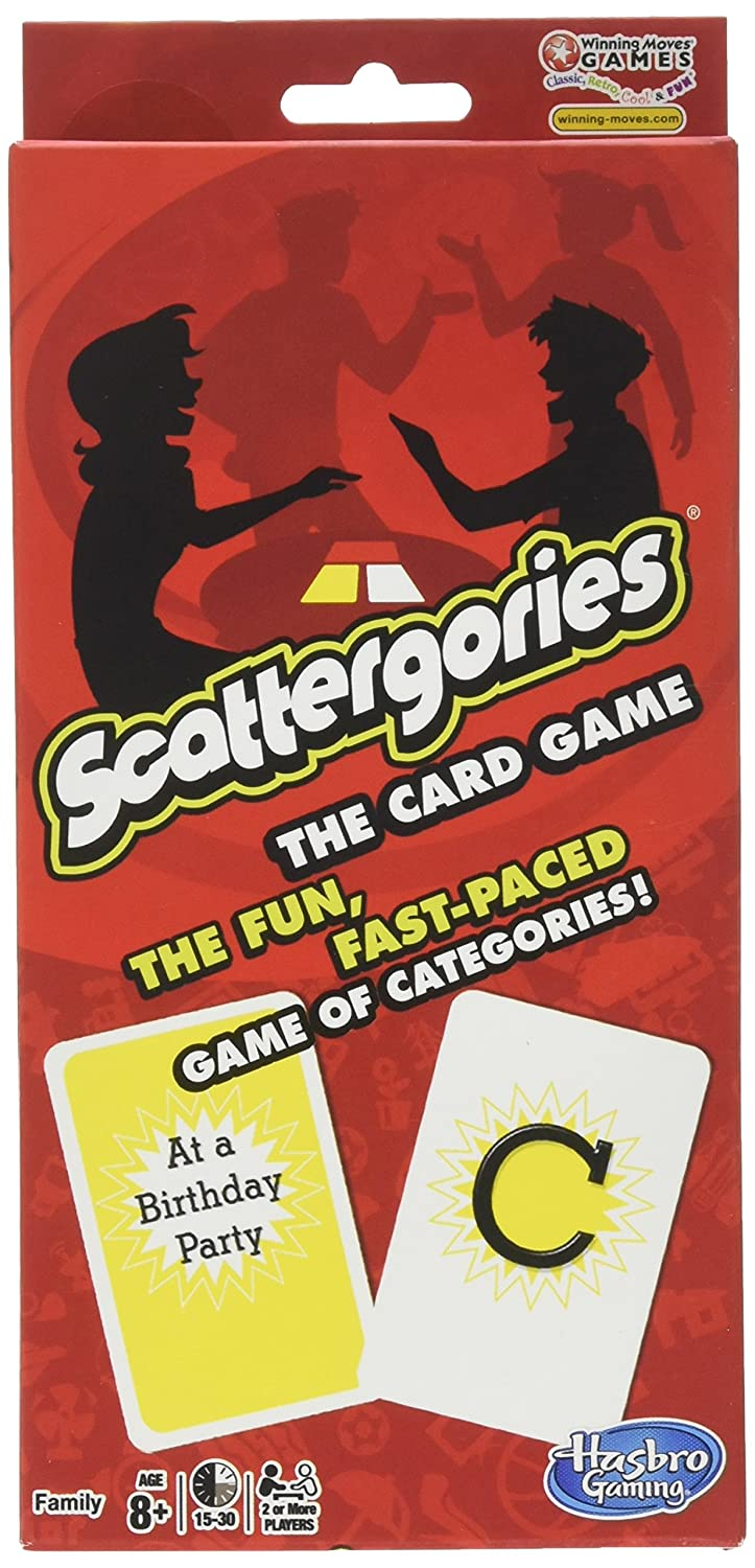 Amazon.com: Scattergories The Card Game Your Favorite Categories ...