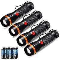 Fulighture Linterna LED , Lanternas de Foco Ajustável, Mini Tocha de Mão Ultra brilhante Para Acampar, 2 Modos de 70…