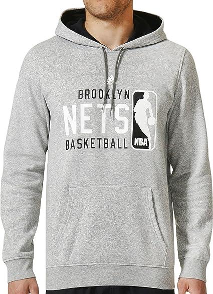 adidas – Pull à Capuche Brooklyn NetsSweat à Capuche avec