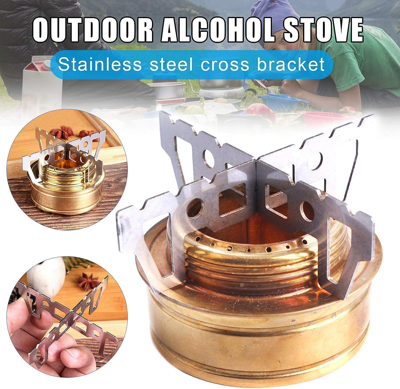 Lanceasy Soporte para hornillos de alcohol para camping al ...
