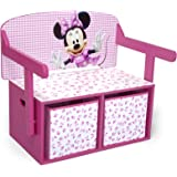 Delta Children Banc et Bureau 3-en-1 Minnie