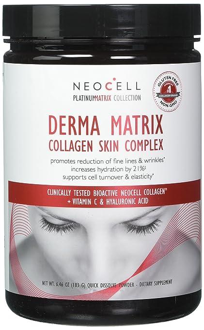 NeoCell - Derma matriz colágeno piel complejo - 6,46 oz