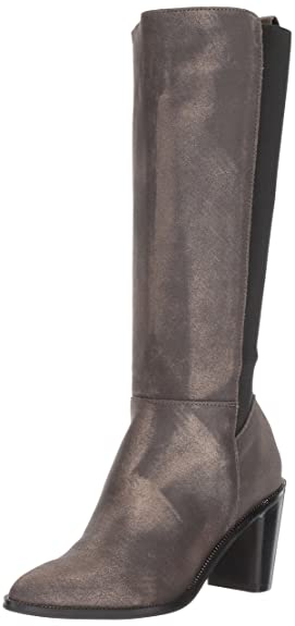 Opportunity Shoes - Corso Como Women's Huey Fashion Boot, Gunmetal Dusted Metallic, 5.5 Medium US