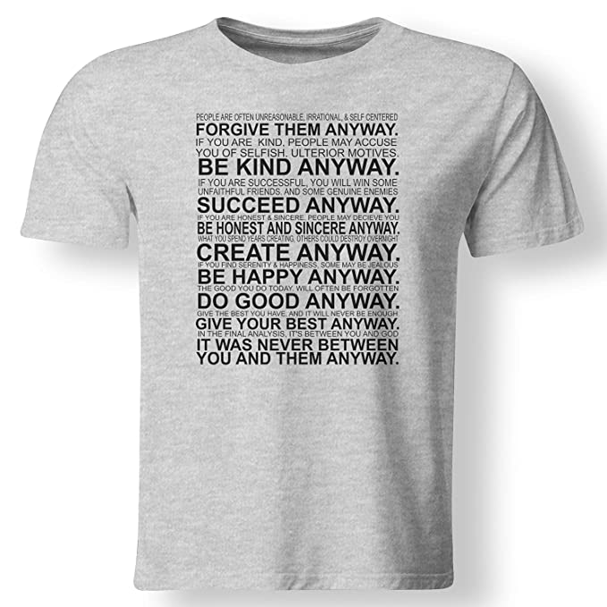 eecfe8f9 Amazon.com: Always Awesome Apparel It was Never Between You and Them Anyway  Motivation T Shirt: Clothing