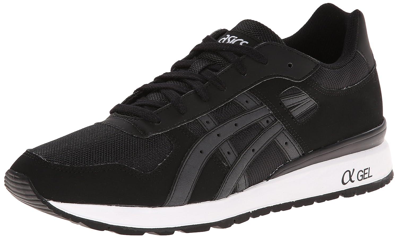 ASICS GT II Retro Sneaker B00KHZ21DW 4.5 M US|Black/Black