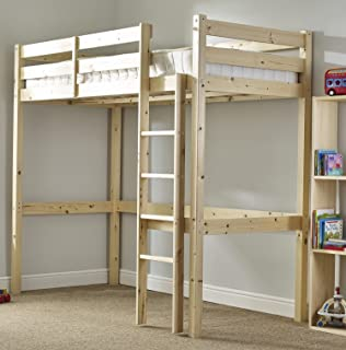 SHORT Length Loft Bunk Bed