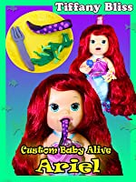 Baby Alive Custom Ariel The Little Mermaid Eats Ursala Tenticles Poops Surprise Blind Bags