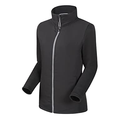c990ef658 FootJoy Women's Full-Zip Quilted Hybrid Golf Jacket (XS, Charcoal)