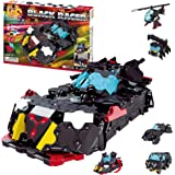 LaQ Hamacron Constructor Black Racer - 9 Models, 280 Pieces| STEM Construction Building Set for Kids and Adults | Made…