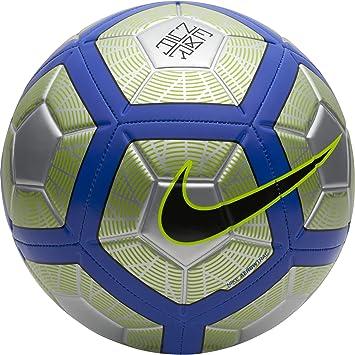 Nike Neymar Strike - Pelotas de fútbol (Negro, Azul, Cromo, Verde,