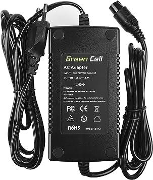 Green Cell® Cargador (54.6V 1.8A 98W) para Haibike KTM Kalkhoff ...