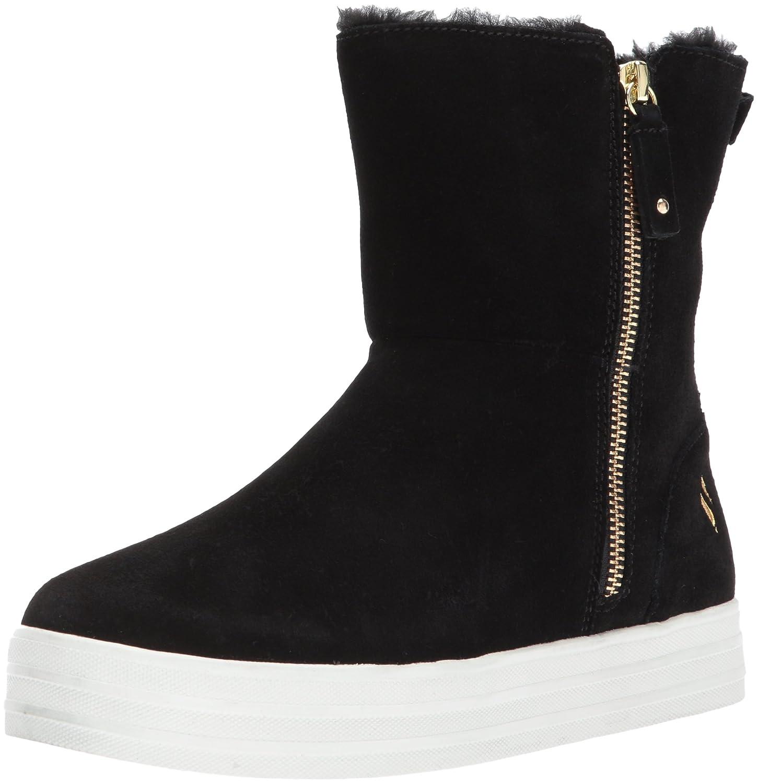 Skechers Street Woherren Double up-Zip Tall Ankle Stiefelie,schwarz,5.5 M US