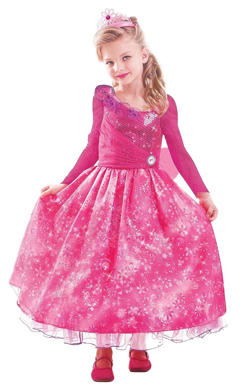 Barbie and The Secret Door Kostüm Kleid Kleid Kostüm Gr. 132 134 Prinzessin 0f22f3