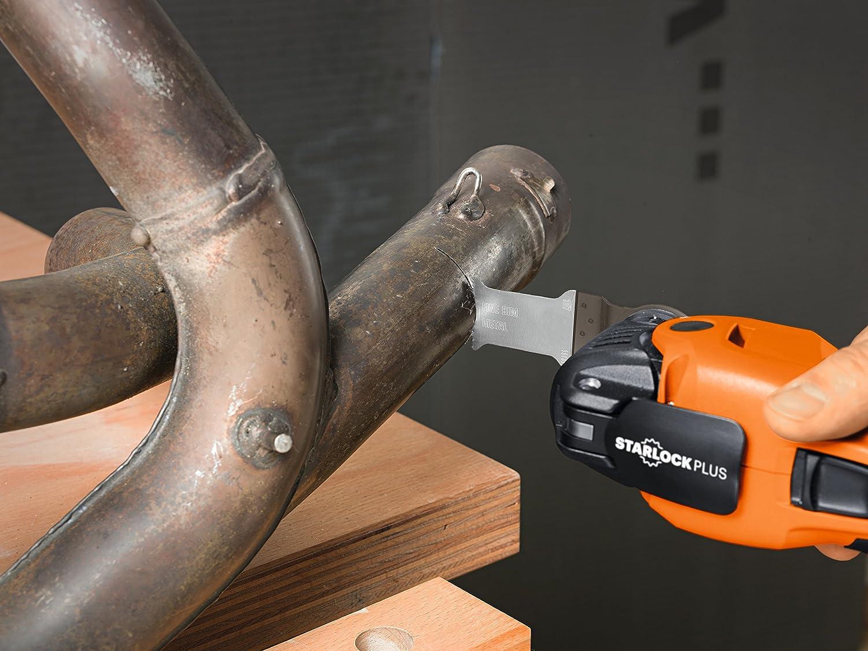MultiBlade Star Lock Universal 44/mm Bi-Metal Blade//–/Wood, Metal, Copper, Aluminium, Nails, PVC, Plastic MB223