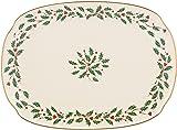 Lenox Holiday Oblong PlatterIvory15.25\   sc 1 st  Amazon.com & Amazon.com | Lenox Holiday Melamine Dinner Plates (Set of 4) Ivory ...