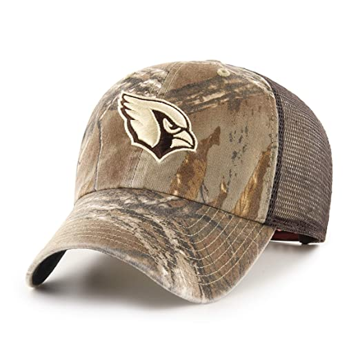 huge selection of fe4f7 d8199 Amazon.com   OTS NFL Arizona Cardinals Male Ledgewood Challenger Adjustable  Hat, Realtree, One Size   Clothing