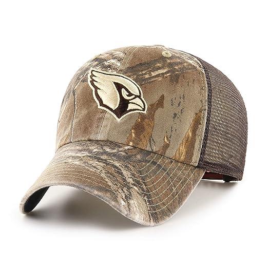 bfa337ebbe49d7 OTS Adult NFL Men's Ledgewood Realtree Challenger Adjustable Hat, Team  Color, One Size