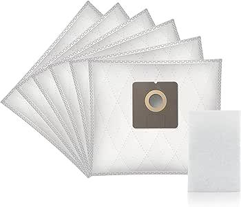 WESSPER® Bolsas de aspiradora para UFESA AT 7506 Mousy (6 piezas, sintéticas): Amazon.es: Hogar