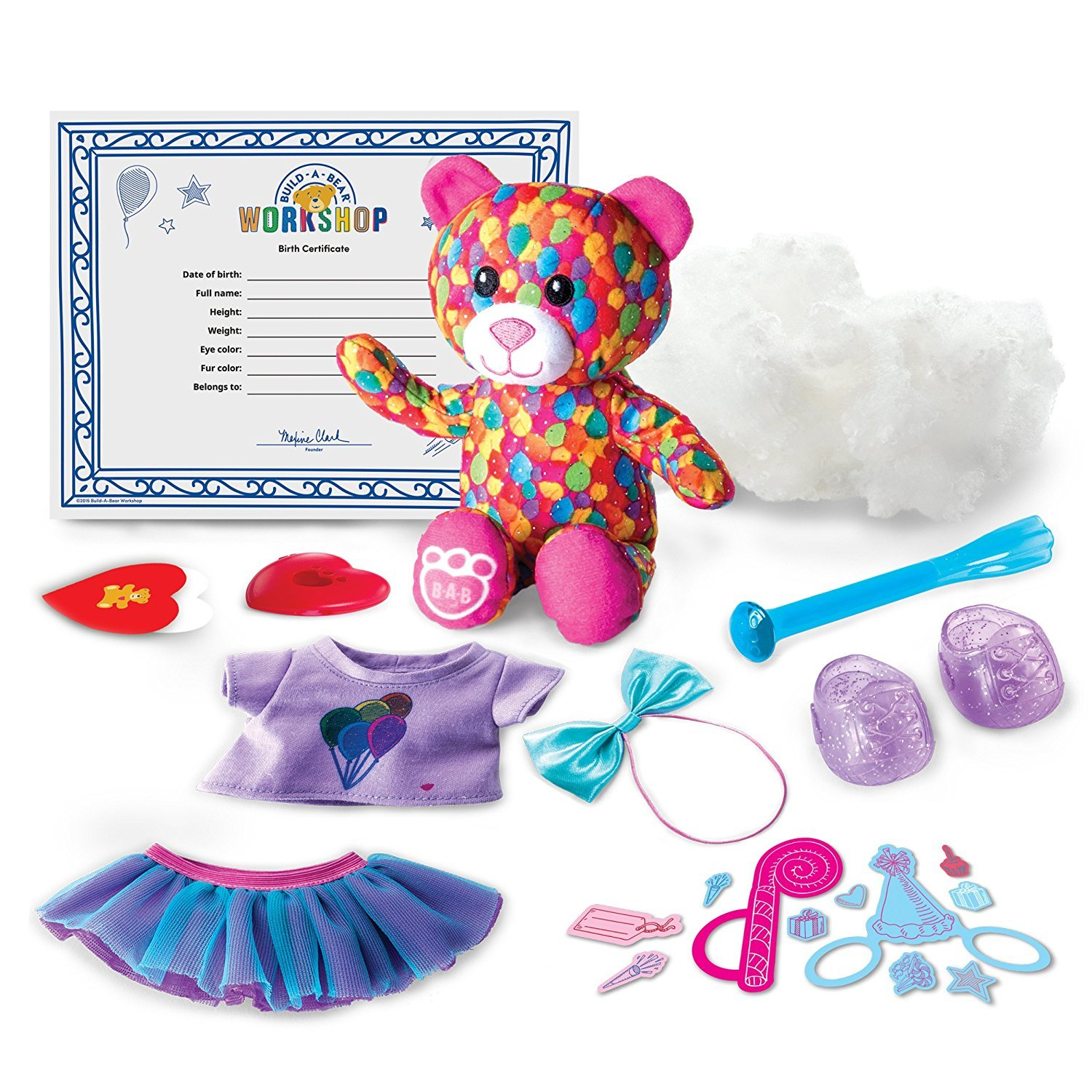 Amazon Build A Bear Workshop Furry Fashions 4 Pack Toys Games