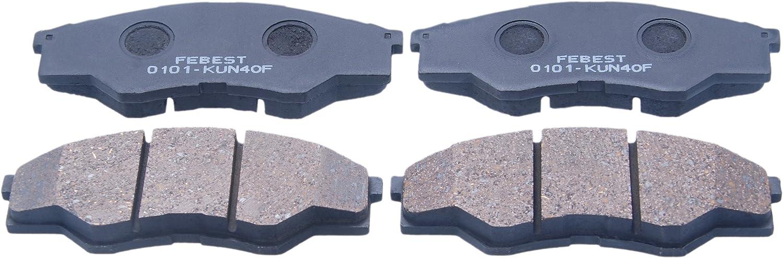 044650K160 Genuine Toyota PAD KIT DISC BRAKE FRONT 04465-0K160