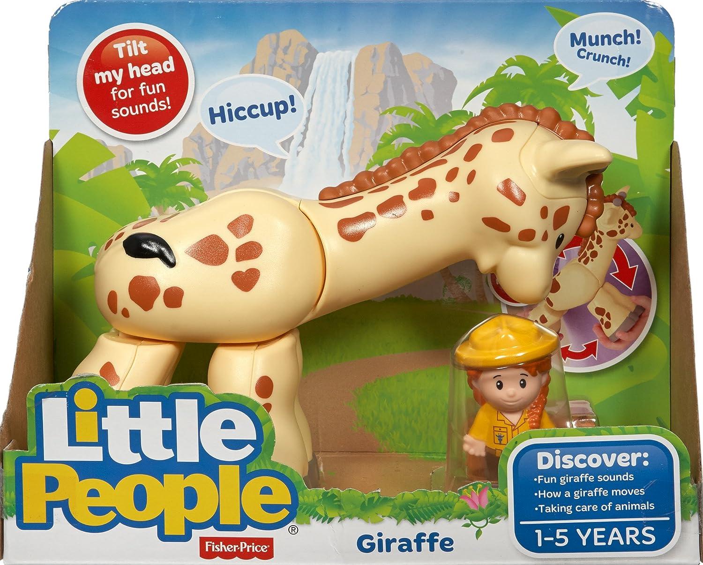 Fisher Price Little People Big Animal Zoo Giraffe Safari Girl Zookeeper Part Toy