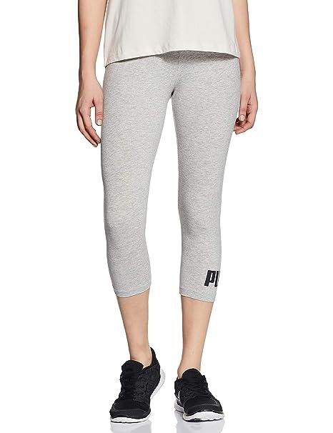 PUMA ESS 3/4 Logo Pantalones, Mujer: Amazon.es: Ropa y accesorios