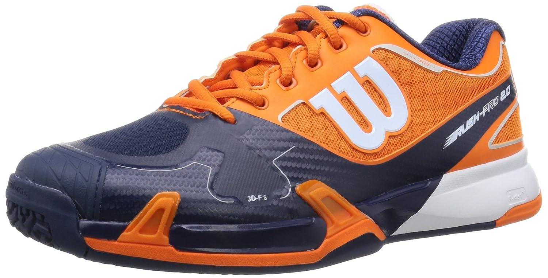 [ウイルソン] WILSON ウイルソン Wilson テニスシューズ RUSH PRO 2.0 B019MRB6OU 26.0 cm E クレメンタイン/ネイビー/ホワイト