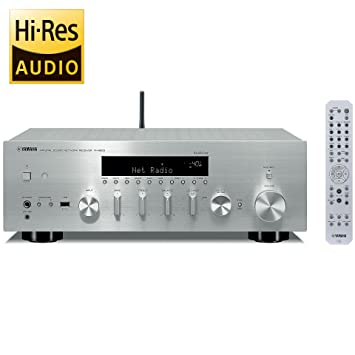 Amazon.com: YAMAHA NETWORK RECEIVER R-N803(S) (SILVER ...