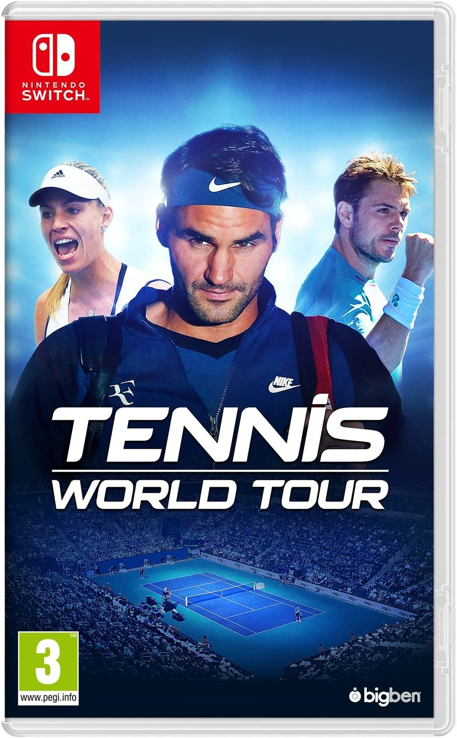 Tennis World Tour - Nintendo Switch [Importación inglesa]: Amazon ...