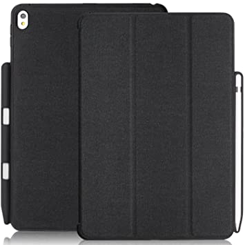 KHOMO Funda iPad Air 3 10.5 (2019) / iPad Pro 10.5 (2017) Carcasa Dual Ultra Delgada y Ligera con Smart Cover y Soporte para Apple Pencil 1 - Gris ...