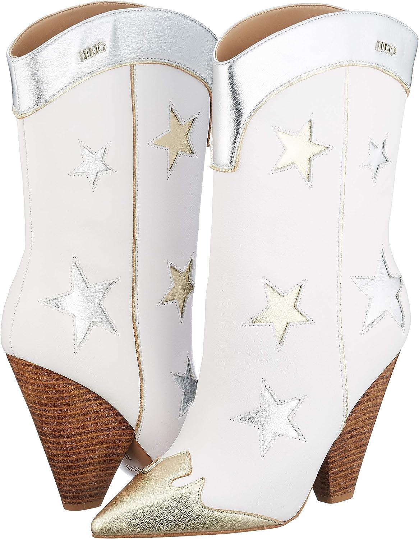 pequeño Comercio Descortés  Amazon.com | Liu Jo Shoes Women's Cowboy Boots | Mid-Calf