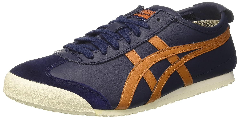 Asics Herren Mexico 66 Sneaker  37.5 EU|Blau (Peacoat/Honey Ginger)