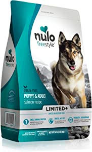 Nulo Freestyle Limited+ Puppy and Adult Small Breed Salmon