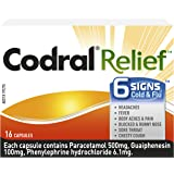 Codral Relief 6 Signs Capsules 16