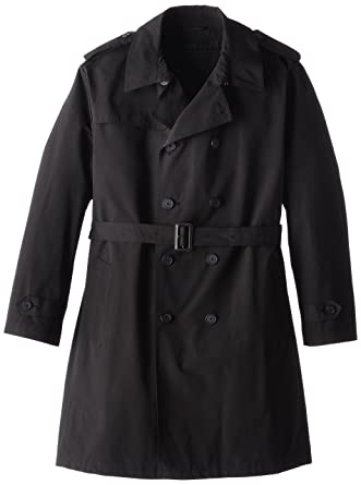67be836aa STACY ADAMS Men's Big and Tall Rain Big & Tall Double Breasted Full Length  Top Coat