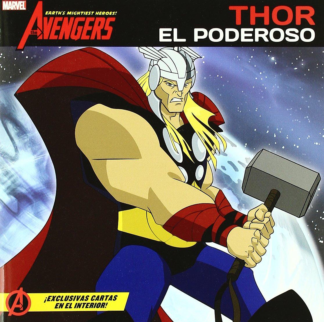 Thor, el poderoso: MARVEL CUENTOS VENGADORES: 9788415343103 ...