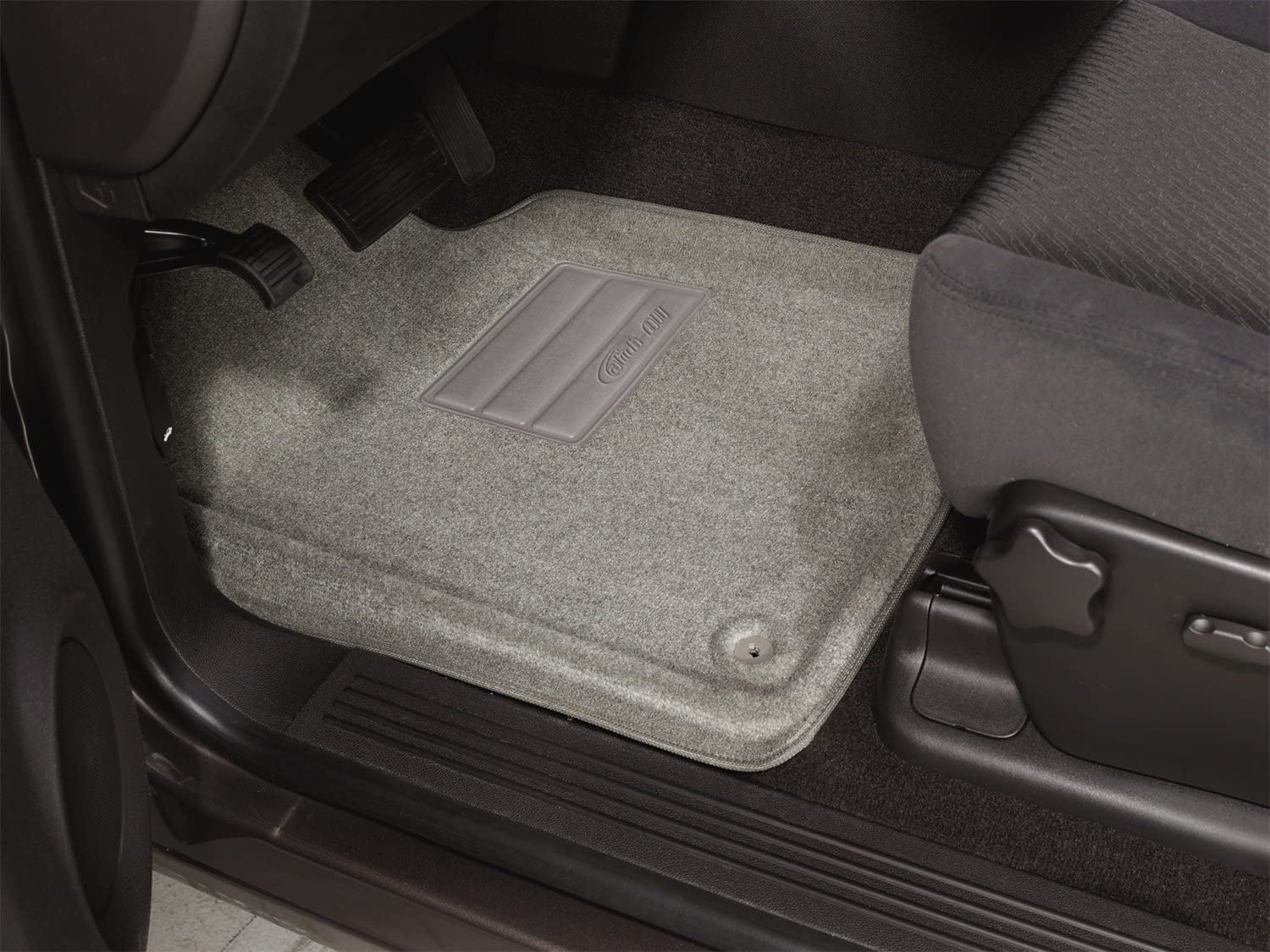 Set of 2 Nifty Products Lund 283075-B Catch-It Vinyl Black Front Seat Floor Mat