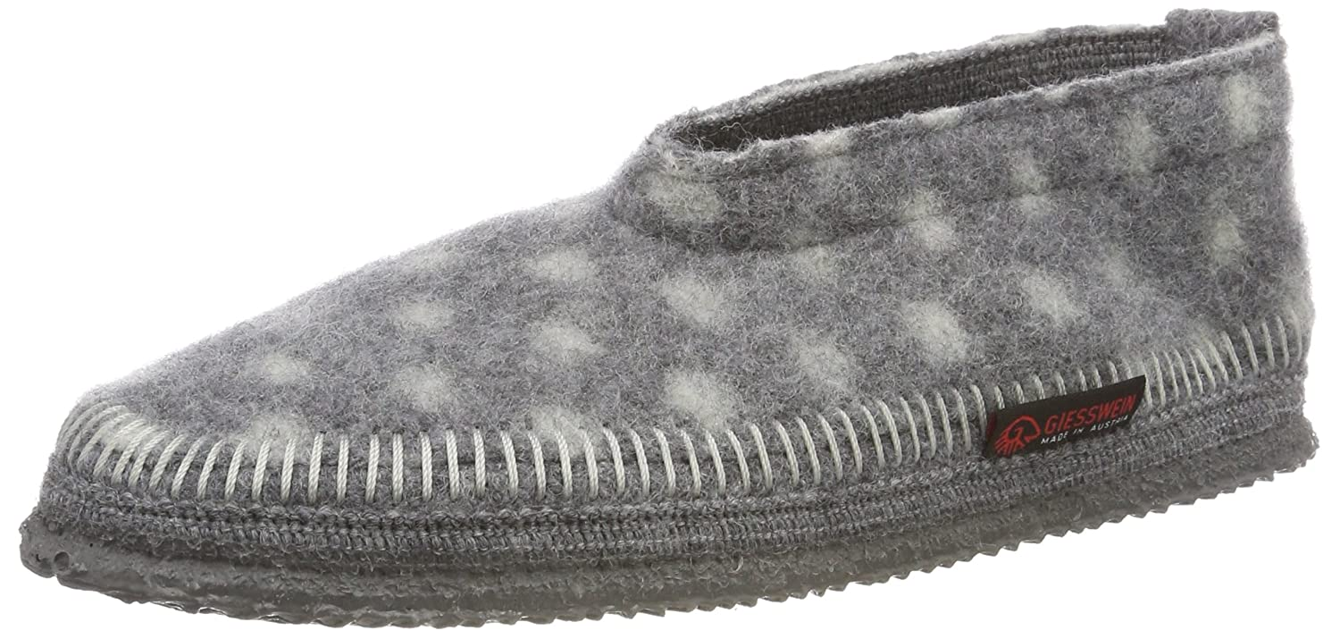 Giesswein Bas Tarbeck, Chaussons Bas Giesswein Femme Chaussons Gris (Schiefer 017) bf1aab4 - piero.space