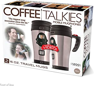 """Prank Pack """"Coffee Talkies"""" - Wrap Your Real Gift in a Prank Funny Gag Joke Gift Box - by Prank-O - The Original Prank Gift Box 