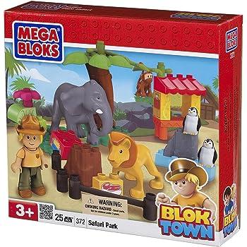 Amazon Com Megabloks Safari Park Toys Amp Games
