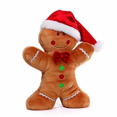 Gund Christmas 'Cinna-man'-Boy Plush: Toys & Games