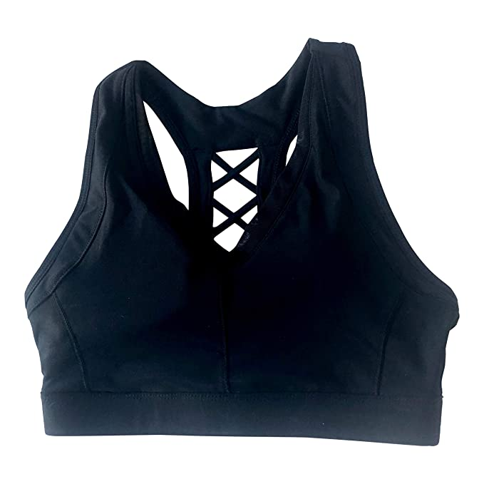 3c1751962d2ca Image Unavailable. Image not available for. Color  Avia Sports Bra-Small  Black