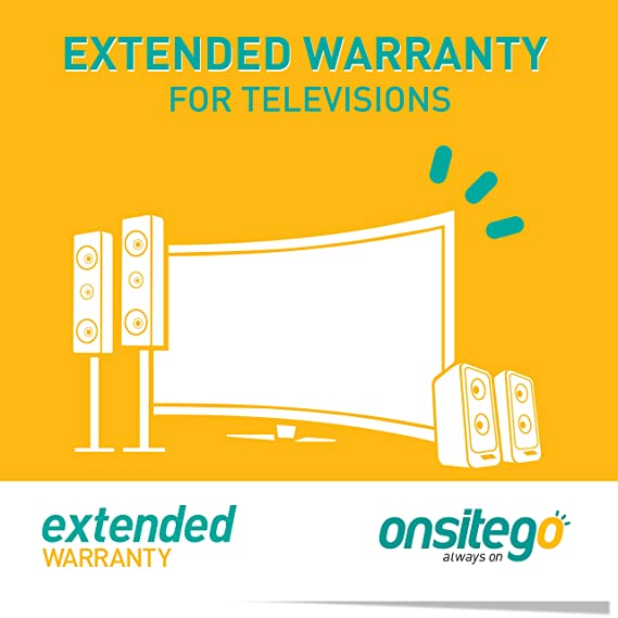 OnsiteGo 2 Year Extended Warranty for TVs from Rs  32001 to Rs  55000