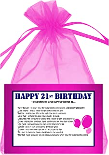 21st BIRTHDAY SURVIVAL KIT PINK