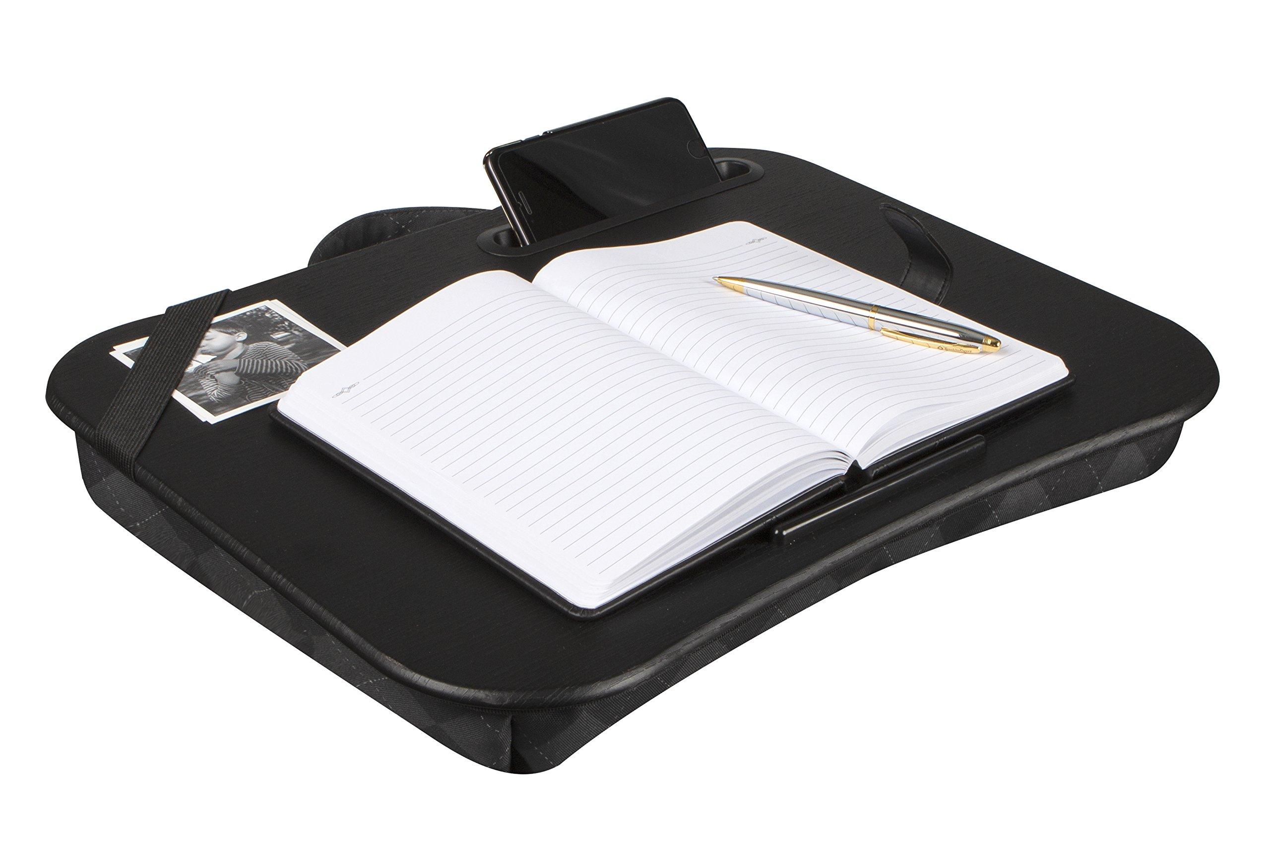 LapGear Designer Lap Desk - Gray Argyle (Fits up to 17.3'' Laptop)