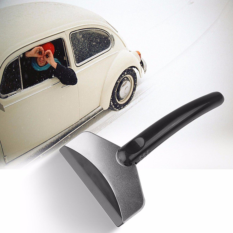 ETU24/® Eiskratzer Scheibenenteiser unzerst/örbarer Eisschaber f/ür das Auto aus stabilen Aluminium Metall Alu und ABS Plastik