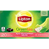 Lipton Green Tea Bags, Dragonfruit Melon, 20 ct