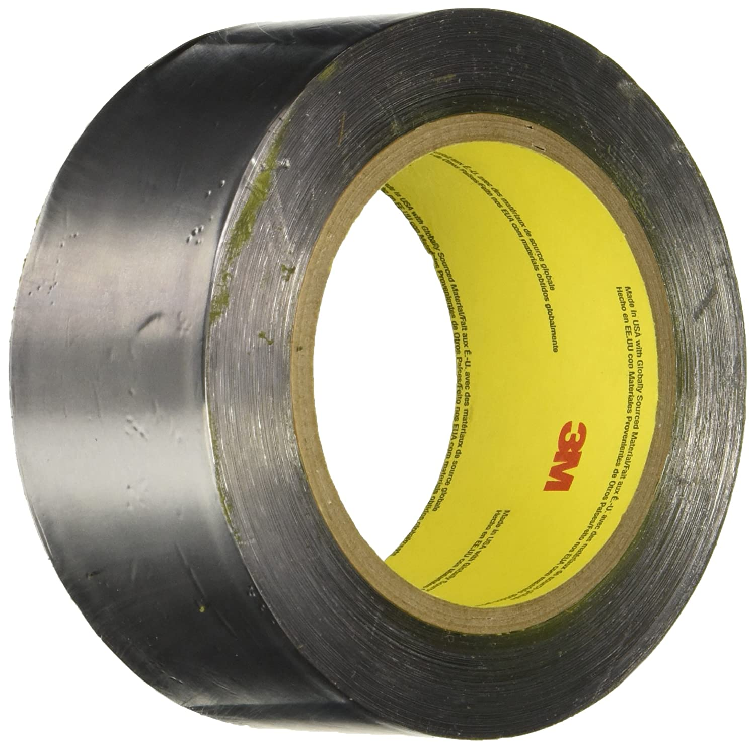 Image of 3M Lead Foil Tape 421, Dark Silver, 2 in x 36 yd, 6.3 mil, 6 rolls per case Home Improvements