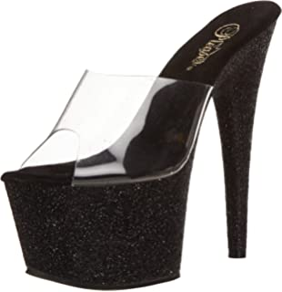 Chaussures Pleaser Stardust noires femme